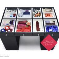 Стол для творчества Floretta artspace, мод.2С-120*78, цвет Черный