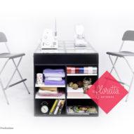 Стол для творчества Floretta artspace, цвет Черный