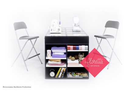 Швейный стол Floretta artspace черный
