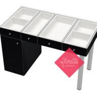 Стол для творчества Floretta artspace, 120*60 см, цвет Черный