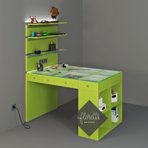 Стол для творчества, стол для рукоделия Floretta artspace
